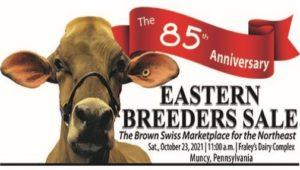 The 85th Anniversary Eastern Breeders Sale